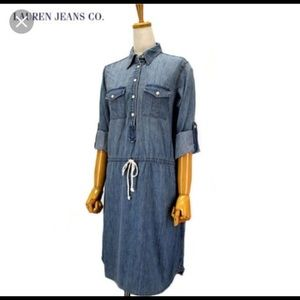 Lauren Jean company Denim dress